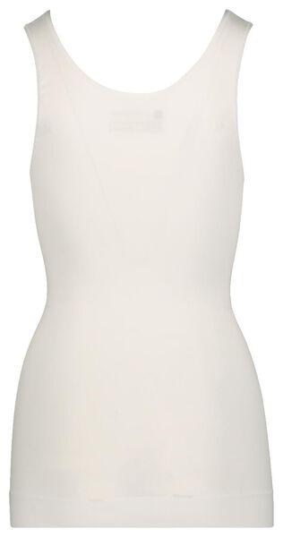 débardeur femme firm control blanc blanc - 1000019798 - HEMA