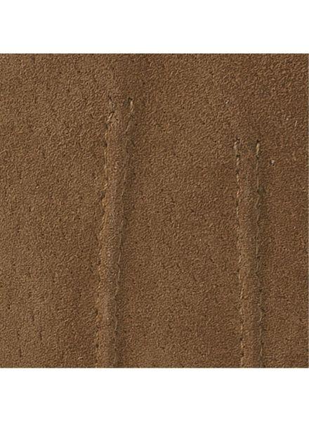 dameshandschoenen suède bruin bruin - 1000016849 - HEMA