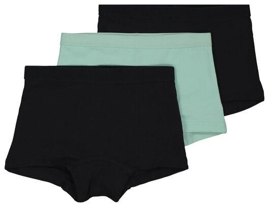 3er-Pack Kinder-Boxershorts mintgrün mintgrün - 1000017998 - HEMA