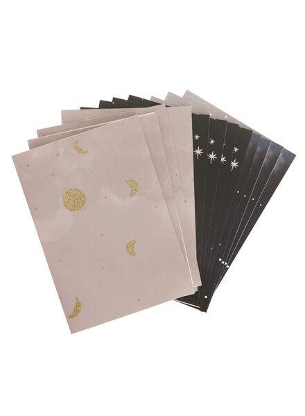 lot de 12 cartes de vœux - 14133375 - HEMA