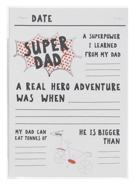 carte fête des Pères - 60700447 - HEMA
