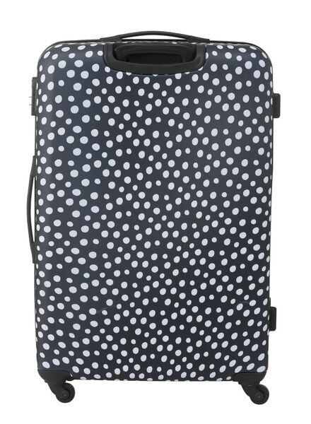 suitcase 77 x 52 x 28 - dark blue polka-dot 77 x 52 x 28 blue - 18690042 - hema