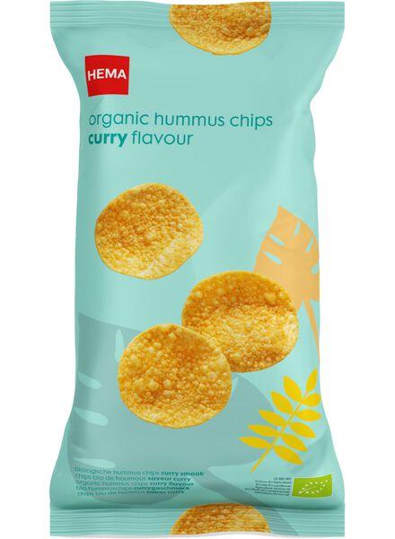 chips de pois chiches bio au curry - 10620013 - HEMA