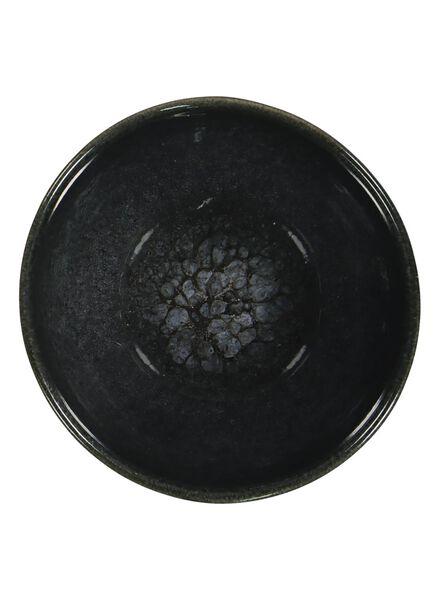 bol - 10 cm - Porto - émail réactif - noir - 9602035 - HEMA