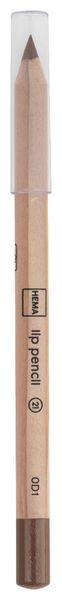 crayon à lèvres marron - 11230121 - HEMA