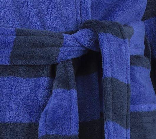 Kinder-Bademantel, Streifen blau 158/164 - 23060503 - HEMA