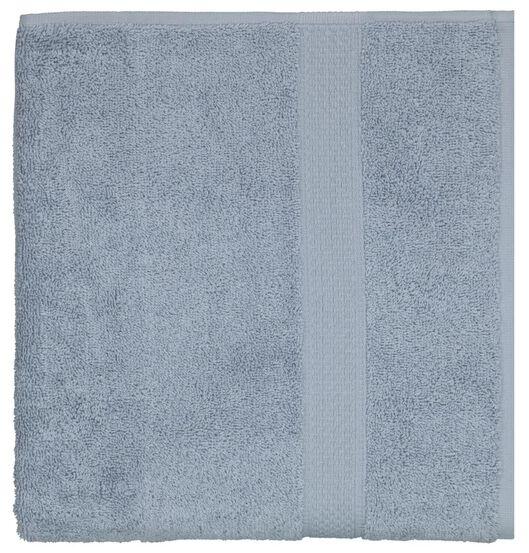 serviette de bain 60x110 qualité épaisse bleu glacier bleu serviette 60 x 110 - 5230040 - HEMA