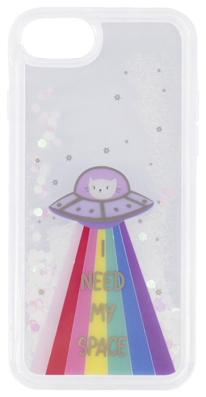 coque souple iPhone 6/6s/7/8/SE2020 alien cat