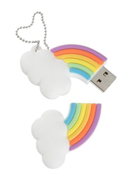 clé USB 8 Go arc-en-ciel - 39520028 - HEMA