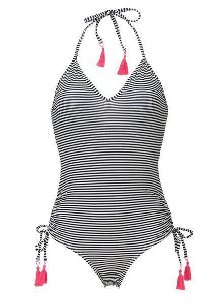 women's swimsuit black/white black/white - 1000006802 - hema
