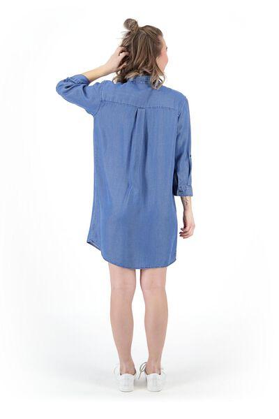 women's tunic mid blue mid blue - 1000019473 - hema