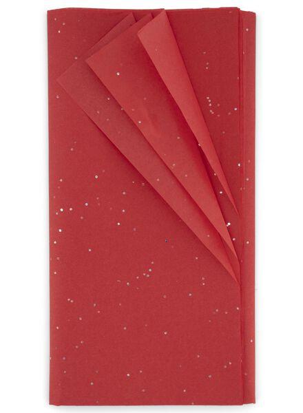 vloeipapier kerst 70x50 - 8 stuks - 25700065 - HEMA