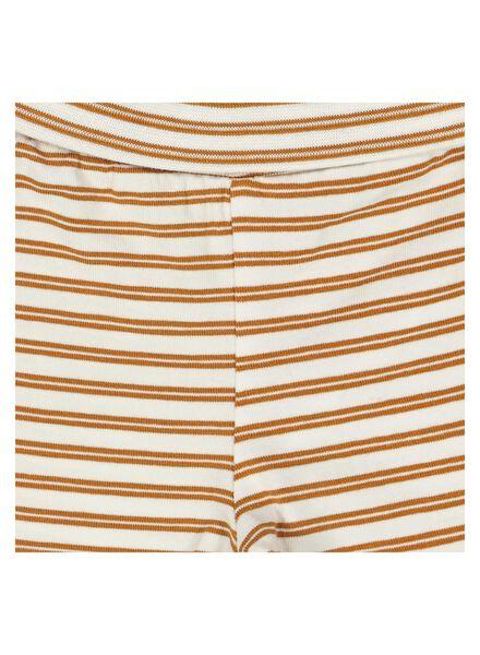 newborn trousers with bamboo brown brown - 1000014048 - hema