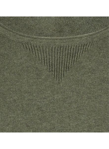 knitted men's sweater - organic cotton green green - 1000016881 - hema
