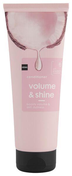 après-shampoing volume & shine 250ml - 11067108 - HEMA