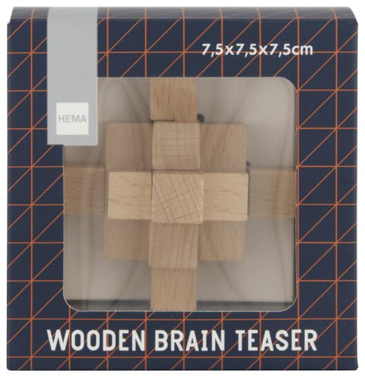 breinbreker hout 9-delig - 61122338 - HEMA