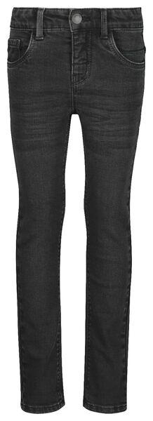children's jeans super skinny fit black black - 1000020336 - hema
