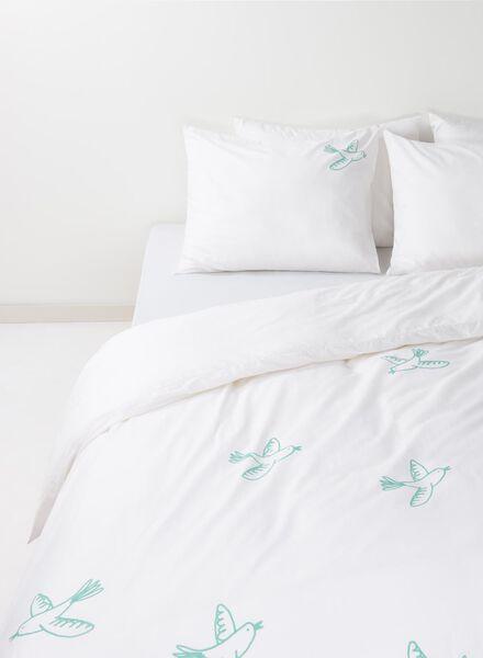 parure de couette soft coton 240 x 220 cm blanc 240 x 220 - 5700034 - HEMA