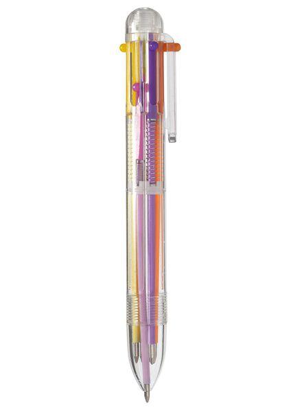 6 colour pen pastels - 14400060 - hema