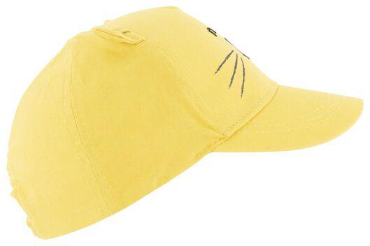 baby cap yellow yellow - 1000018537 - hema