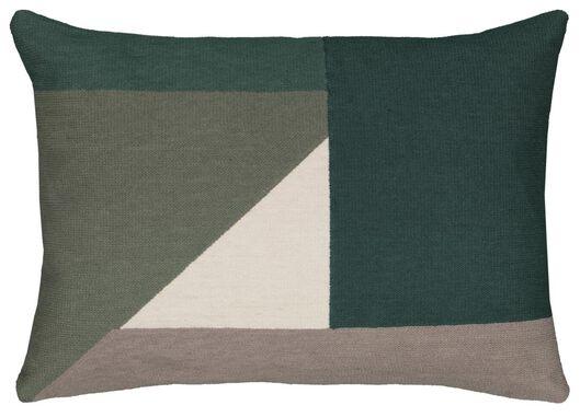 Kissen, 35 x 55 cm, grün - 7311038 - HEMA