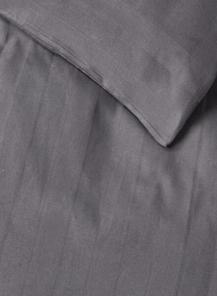 housse de couette-hôtel coton satin-140x200cm-gris gris 140 x 200 - 5700122 - HEMA