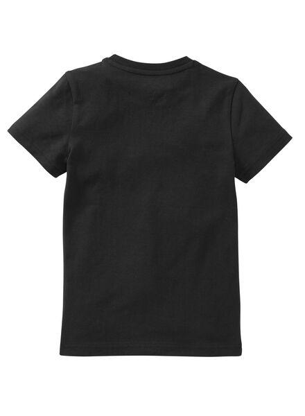 children´s T-shirt - organic cotton black black - 1000019373 - hema