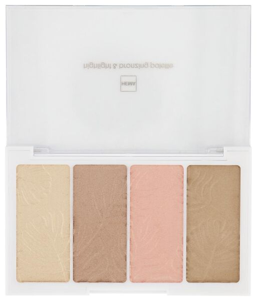 highlight & bronzer palette - 11290028 - hema