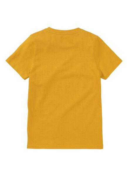 Kinder-T-Shirt gelb gelb - 1000012358 - HEMA