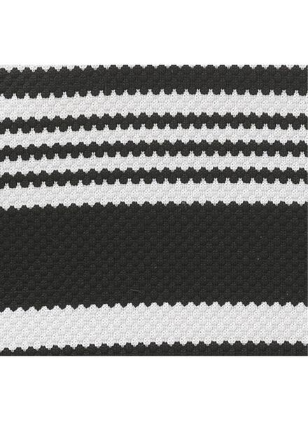 Damen-Bikinislip schwarz/weiß - 1000012159 - HEMA