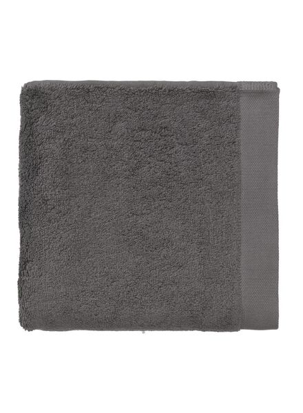 towel - 50 x 100 cm - hotel extra soft - plain dark grey dark grey towel 50 x 100 - 5220031 - hema