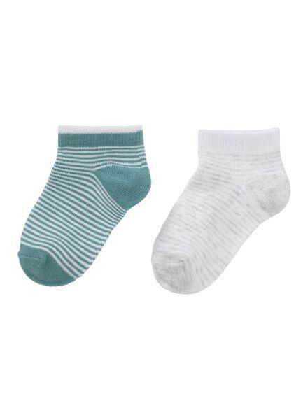 HEMA 2er Pack Kinder Socken Grün