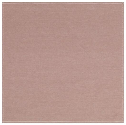 Geschirrtuch, 65 x 65 cm, Baumwolle, terrakotta - 5410121 - HEMA