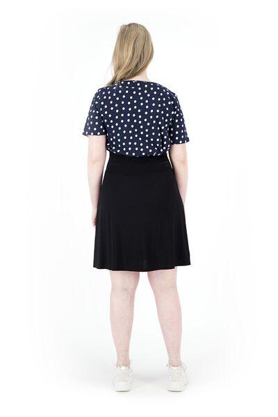 women's T-shirt dark blue dark blue - 1000019282 - hema