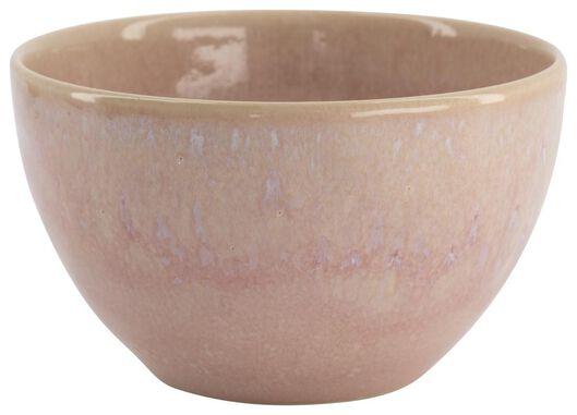 Schale Porto, 14 cm, reaktive Glasur, rosa - 9602237 - HEMA