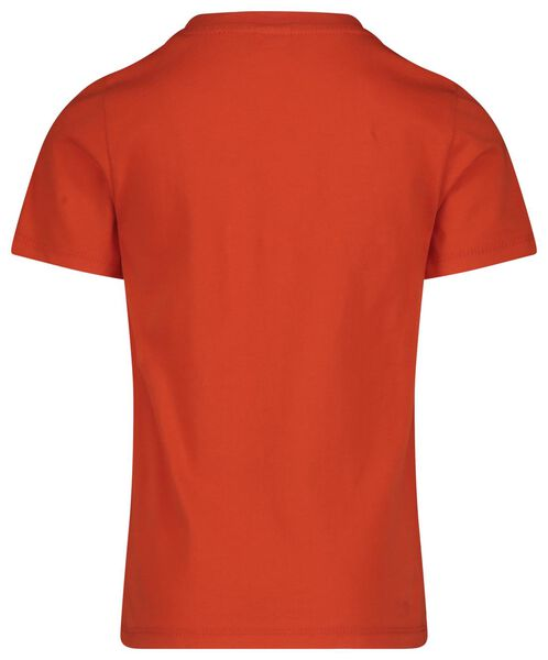 children's T-shirt mini-me orange orange - 1000019293 - hema