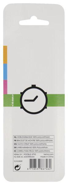 Uhrenarmband, 14 mm, rot weinrot weinrot - 1000021940 - HEMA