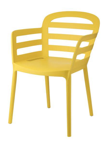 Stapelbarer Gartenstuhl, gelb - 13091010 - HEMA