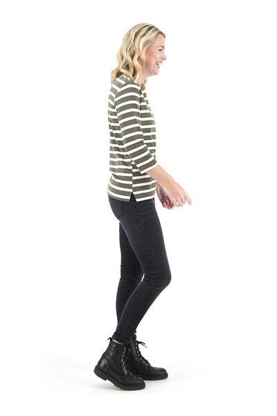 dames jeans - skinny fit zwart zwart - 1000018245 - HEMA