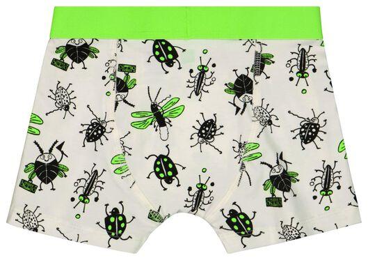 2 boxers enfant insectes coton stretch vert vert - 1000024160 - HEMA