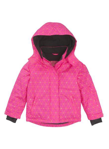 children's ski jacket bright pink bright pink - 1000006353 - hema