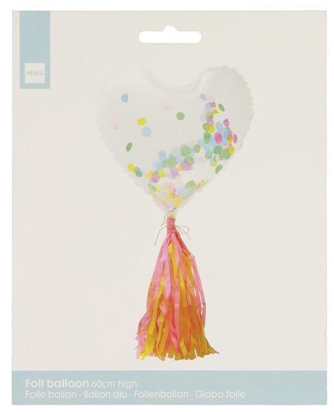 Folienballon Herz, 60 cm - 14200194 - HEMA