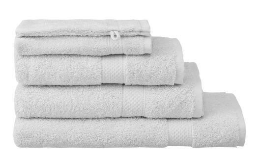serviettes de bain - qualité supérieure gris clair gris clair - 1000015168 - HEMA