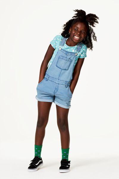 Kinder-T-Shirt, Blumen grün grün - 1000023140 - HEMA
