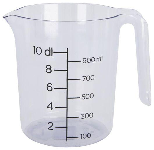 Messbecher, 1 L, Kunststoff, transparent - 80810031 - HEMA
