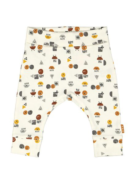 newborn trousers white white - 1000014181 - hema