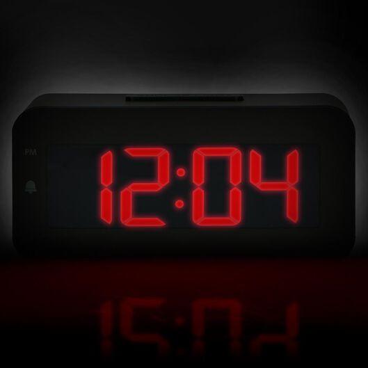 réveil digital LED - 13780007 - HEMA
