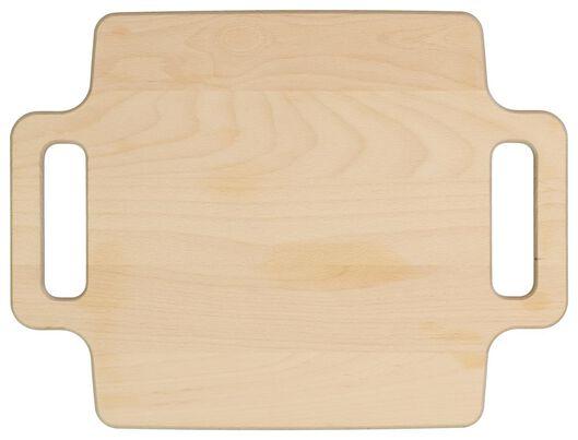 wooden board with handles 30x40x2 - 80810011 - hema