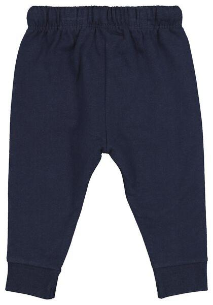 pantalon sweat bébé bleu bleu - 1000014705 - HEMA