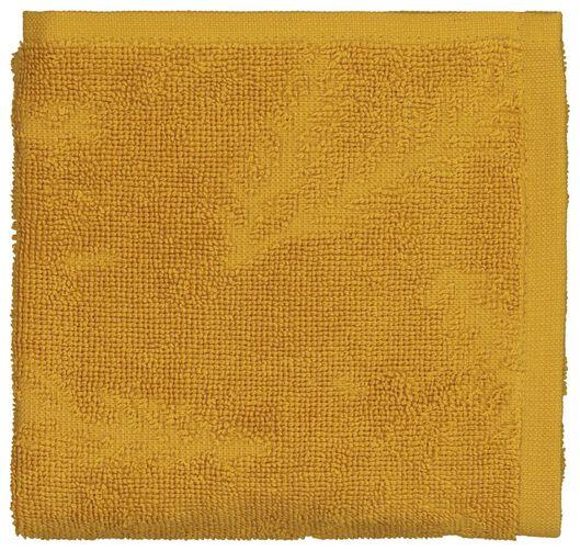 essuie-mains 50x50 coton - branche dorée - 5410093 - HEMA